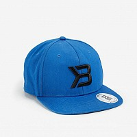 Better Bodies Vyriška Kepurė Flat Bill Cap Blue